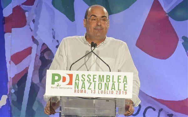 """Zingaretti """"Governo non ha una maggioranza, andare al voto"""""""