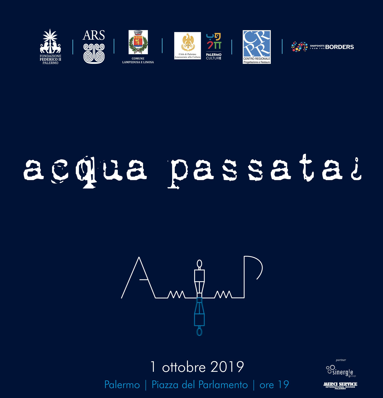 Acqua passata¿: l'arte per i diritti umani in Piazza del Parlamento a Palermo