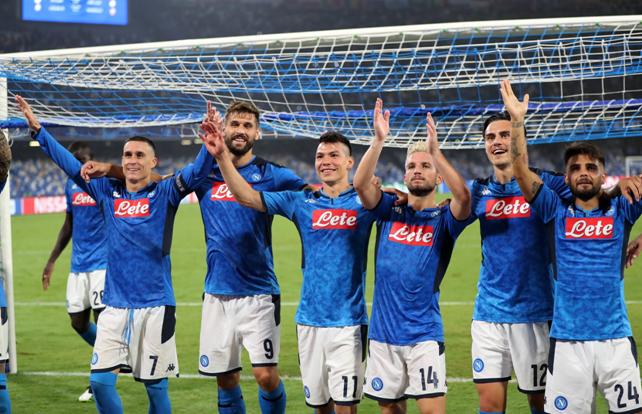 Champions League, ride solo il Napoli tra le italiane: delusione Juve e flop Dea