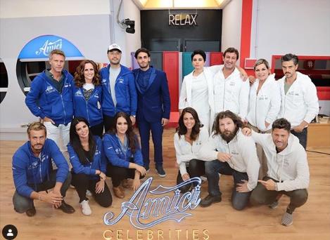 Amici Celebrities, i coach Giordana e Alberto hanno formato le squadre