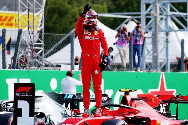 Capolavoro Leclerc, Ferrari in trionfo a Monza dopo 9 anni