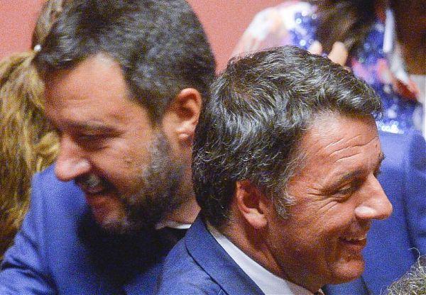 Confronto tv Renzi-Salvini il 15 ottobre a Porta a Porta