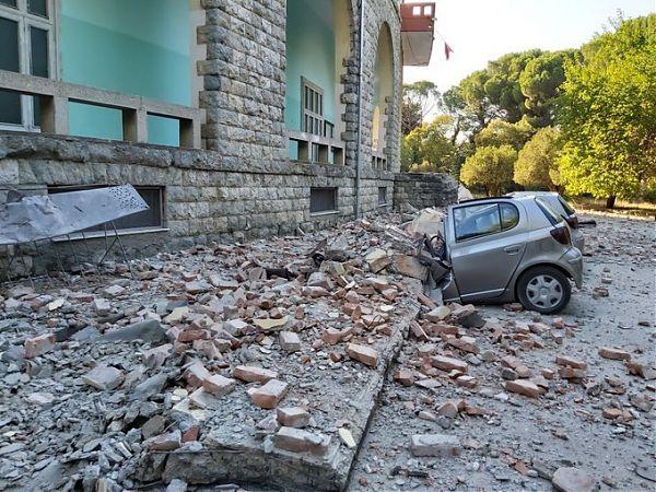 Albania, feriti e danni per due forti scosse di terremoto