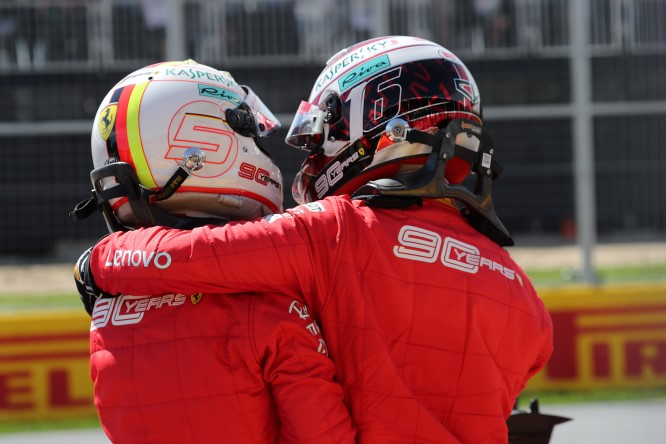Formula 1, doppietta Ferrari a Singapore: Vettel precede Leclerc
