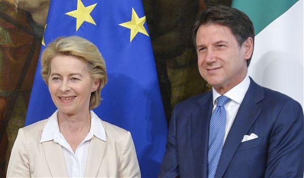 Ue, Conte incontra Von Der Leyen a Bruxelles