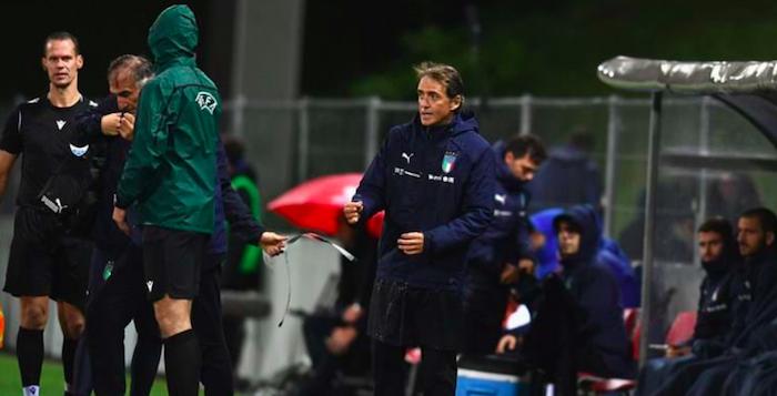 L'Italia batte 5-0 il Liechtenstein, Mancini eguaglia il record di Pozzo