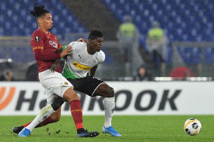 Roma beffata in Europa League, il Moenchengladbach  fa 1-1 al 95′