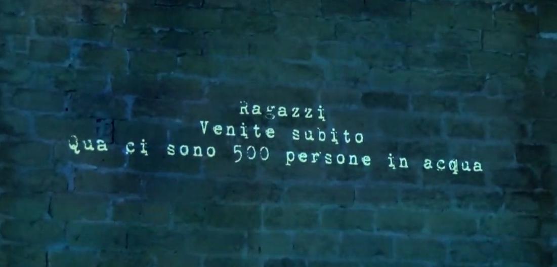 """""""Acqua passata¿"""", a Palermo l'arte come ponte comunicativo per ricordare i morti in mare"""
