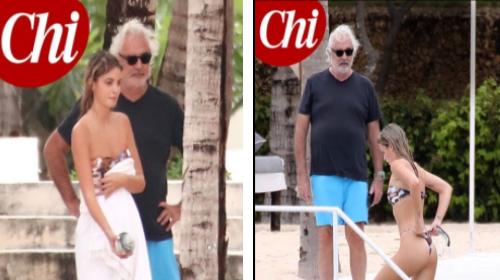 Flavio Briatore e Benedetta Bosi, weekend romantico con la studentessa 20enne