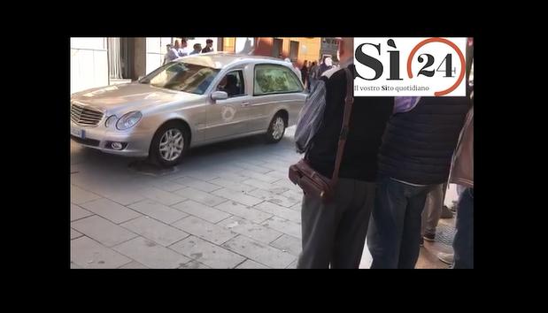 Tragedia di Belmonte Mezzagno, i funerali di una delle vittime   VIDEO