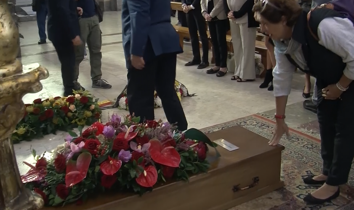 Celebrati a Palermo i funerali dell'archeologo Sebastiano Tusa | VIDEO