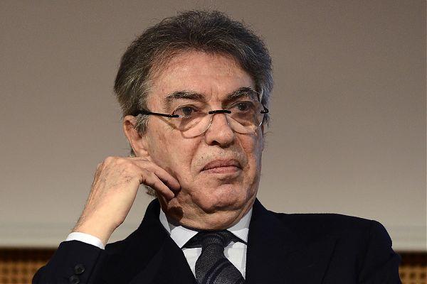 """Moratti """"Inter da scudetto ma la Juve notevolmente forte"""""""