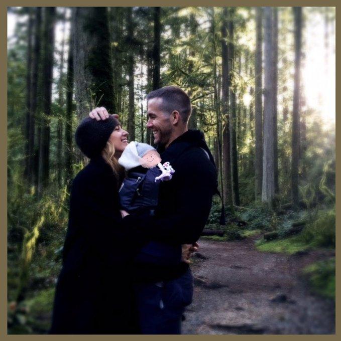 Ryan Reynolds e Blake Lively presentano la loro terza figlia