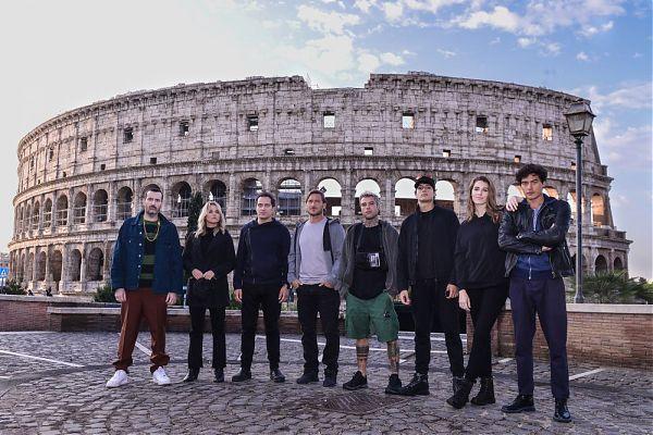 """Totti e Fedez nella serie """"Celebrity Hunted – Caccia all'uomo"""""""