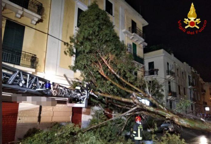 Maltempo, nel Sud Italia 1300 interventi dei vigili del fuoco in 36 ore
