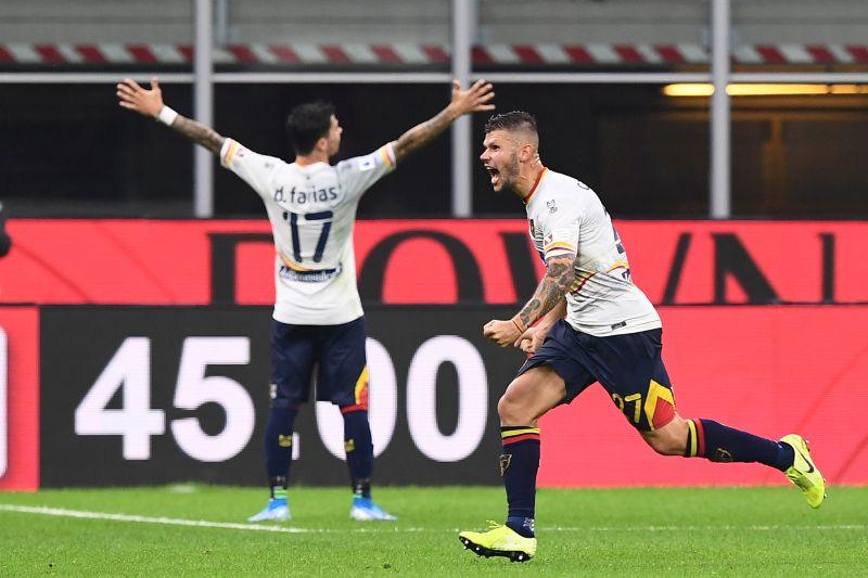 Cagliari avanti 2-0, poi si fa rimontare dal Lecce nel recupero