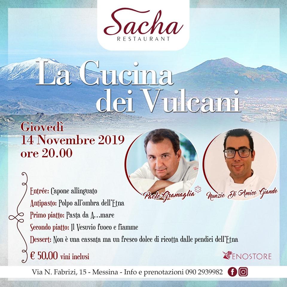 La cucina dei Vulcani: l'Etna incontra il Vesuvio