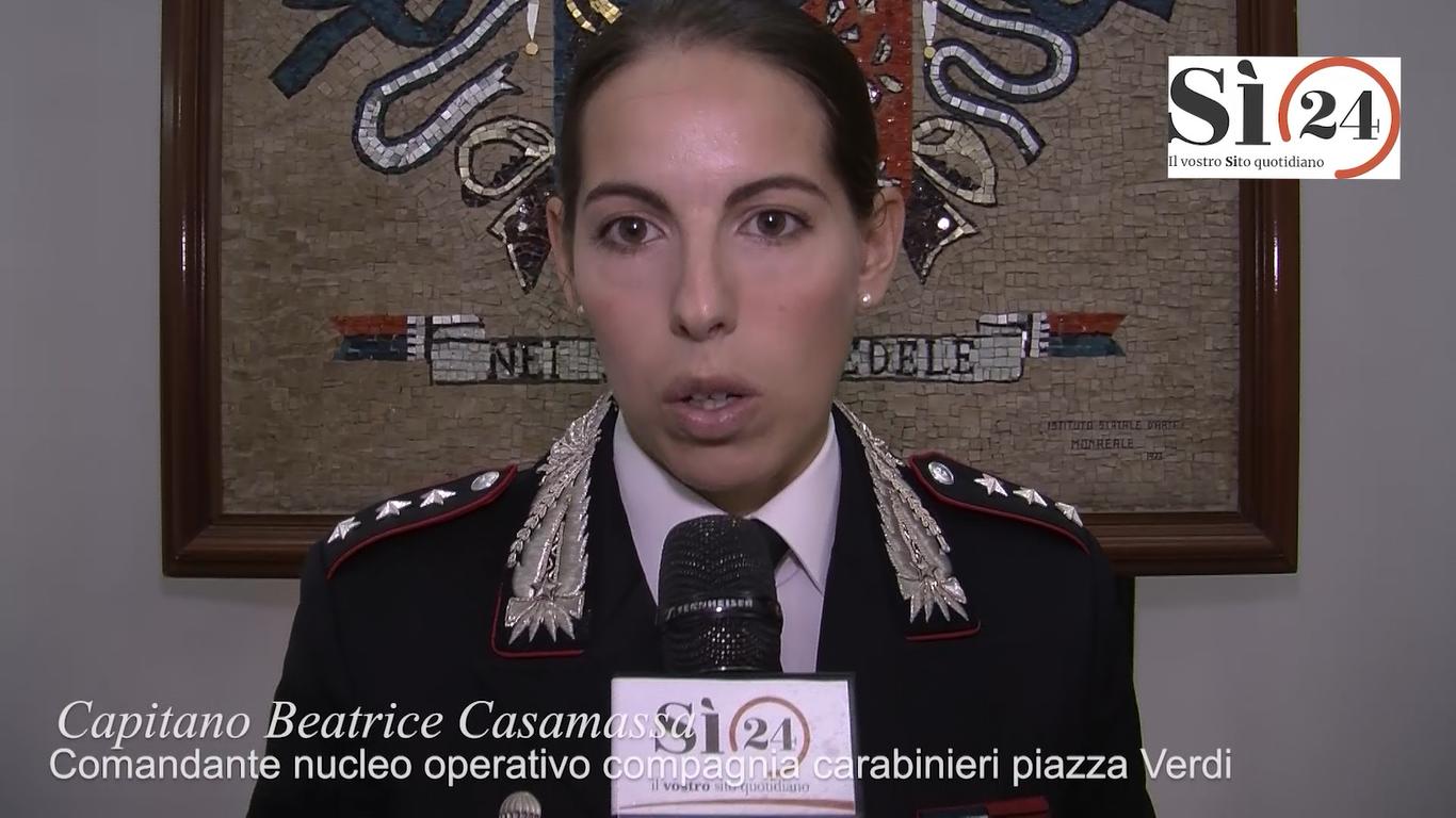 Palermo, presentata la rete antiviolenza dei carabinieri   VIDEO