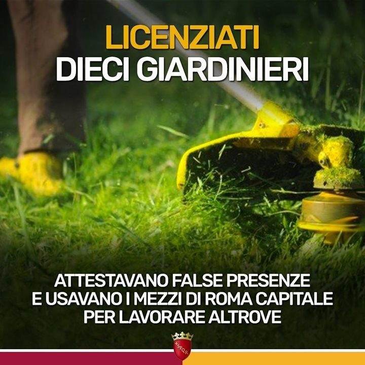 Roma, furbetti del cartellino: 10 licenziati