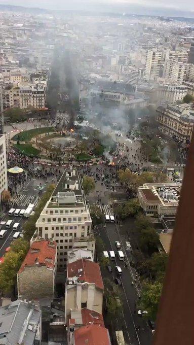 Francia, arresti e scontri nell'anniversario dei Gilet gialli