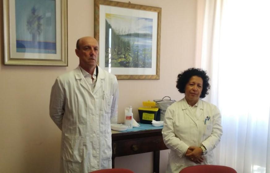 Asp di Trapani, il direttore generale si vaccina e apre la campagna antinfluenzale 2019/2020