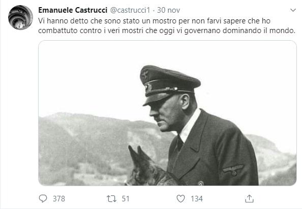 Il professore senese cita Hitler, il rettore lo difende. Anzi, no