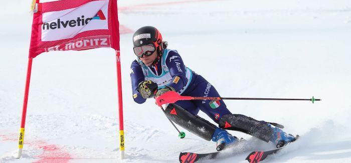 Gross sul podio nello slalom, Brignone è ora seconda in Coppa