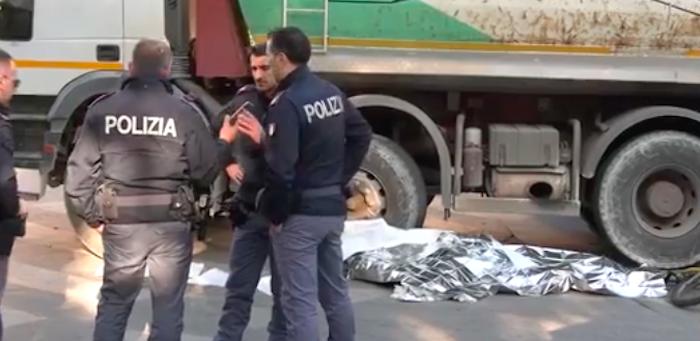 Ciclista investito e ucciso a Palermo, le immagini dal luogo della tragedia – Video