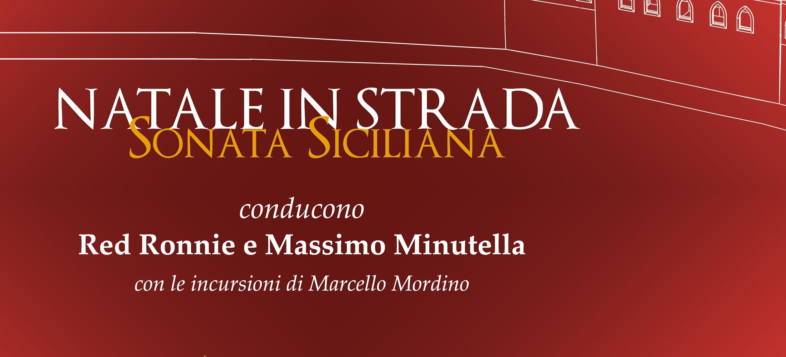 """La Fondazione Federico II porta il """"Natale in strada"""" con una sonata siciliana"""