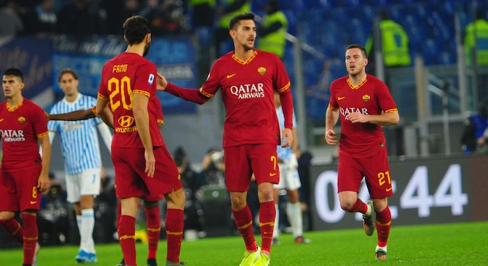 Roma in rimonta sulla Spal, 3-1 all'Olimpico