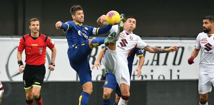 Il Verona rimonta da 0-3 e pareggia 3-3 con il Torino