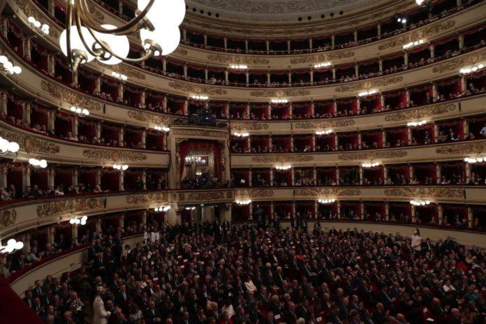 Tosca inaugura la stagione della Scala a Milano