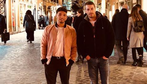 Marco Carta e il fidanzato Sirio, sui social la prima foto insieme
