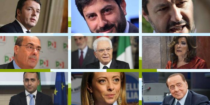 Cosa faranno a Capodanno i leader politici italiani