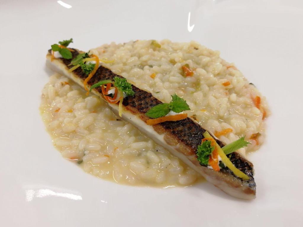 """Risotto """"Sicilia"""" dello chef Giancarlo Troia, un piatto fresco per ogni stagione"""
