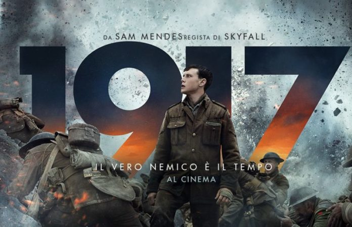 """1917"" in testa al box office con un incasso di oltre 2 milioni"