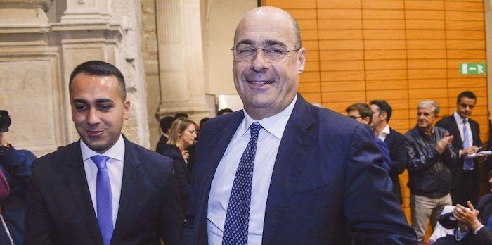 """Vertice Di Maio-Zingaretti a Palazzo Chigi: """"Clima costruttivo"""""""