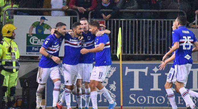 Torino e Fiorentina vittorie di misura, pokerissimo Samp col Brescia