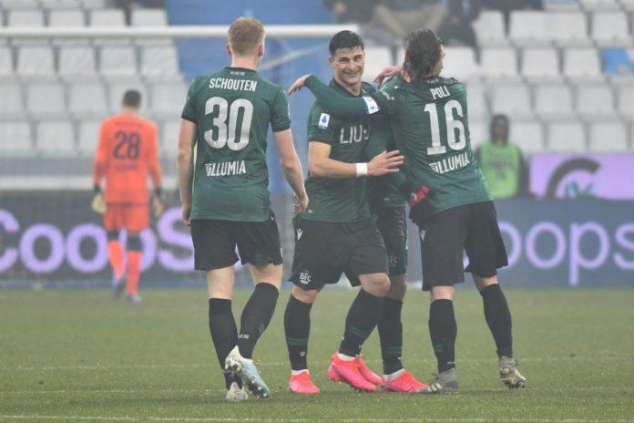 Al Bologna il derby con la Spal, i rossoblu vincono 3-1 a Ferrara