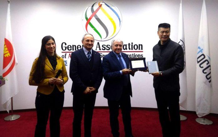 Federsports a Pechino, siglato accordo strategico Italia-Cina