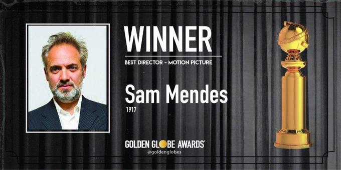 """Golden Globes, trionfo per """"1917"""" di Sam Mendes: miglior film e miglior regista"""