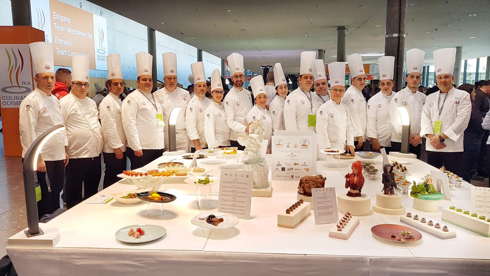 Olimpiadi di Cucina 2020:  medaglia di bronzo per il Culinary team Palermo