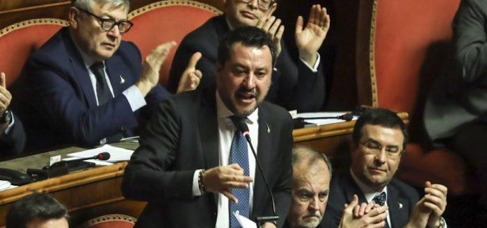 """Caso Gregoretti, dal Senato """"sì"""" al processo a Salvini"""