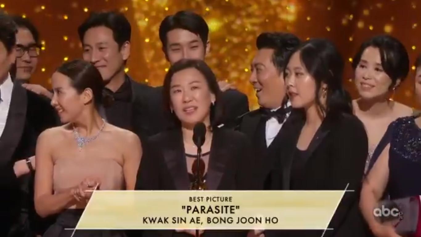 Parasite trionfa agli Oscar, Phoenix e Zellweger migliori attori