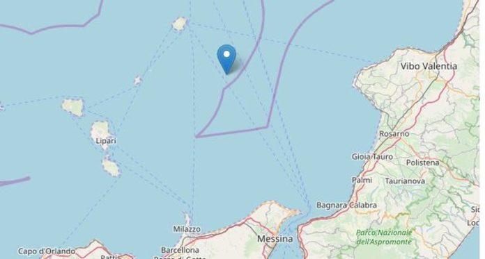Terremoto di magnitudo 3.7 al largo delle Isole Eolie