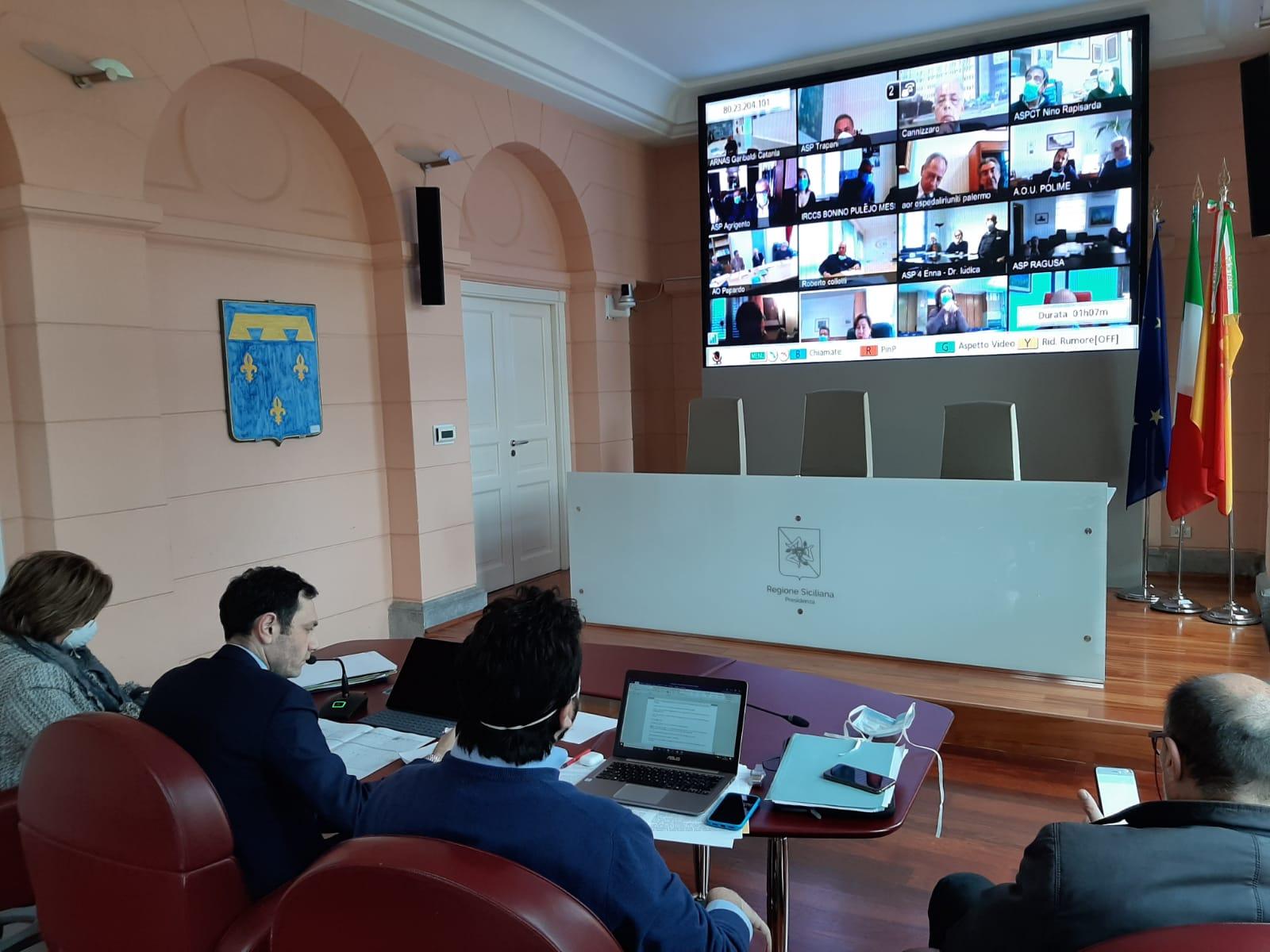 Coronavirus, il Piano d'azione del governo siciliano