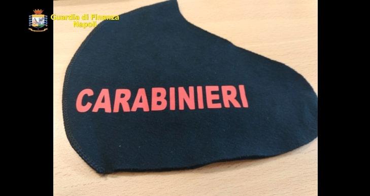 Contraffacevano mascherine con noti marchi, due denunciati a Napoli