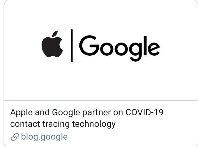 Covid-19, Apple e Google insieme per una tecnologia di tracciamento dei contatti