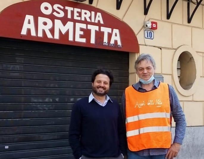 Palermo, Giacomo Armetta lancia #aiutiamoci per regalare un pasto ai più bisognosi