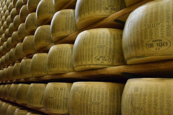 Un 2019 record per il Parmigiano Reggiano